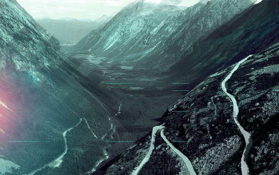 serpenteantes caminos