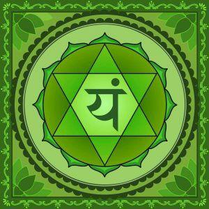 el hexágono y el chakra corazón